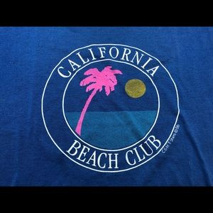 Jerzees Shirts - Vintage California Beach Club Shirt